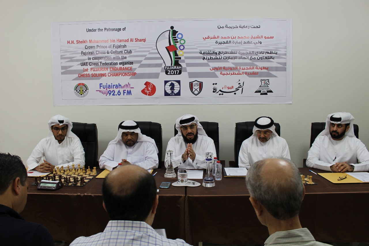 Fujairah Chess Club to host unique event Event designed to test endurance by providing various situations